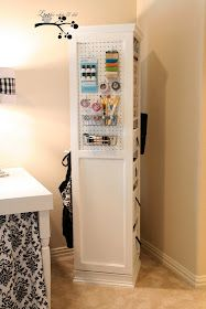 Lookie What I Did: Scrapbooking Organizing Tower - Swivels 360°