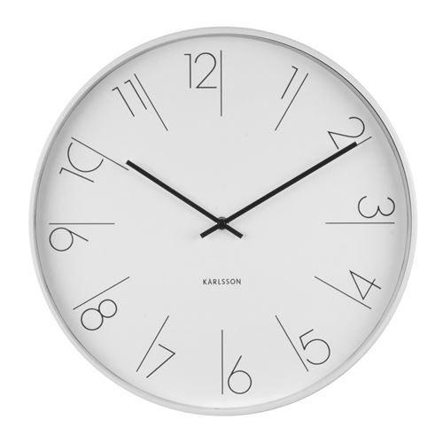Karlsson Uhren karlsson numbers wanduhr ø 40 cm jetzt bestellen unter