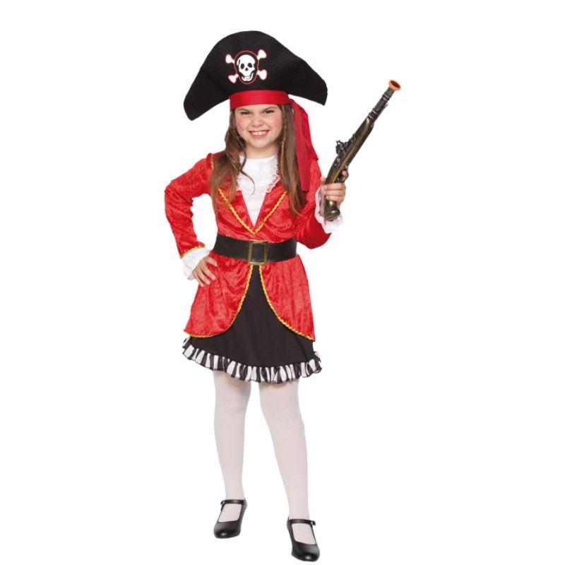 Disfraz de pirata disfraces carnaval infantiles - Maquillaje pirata nina ...