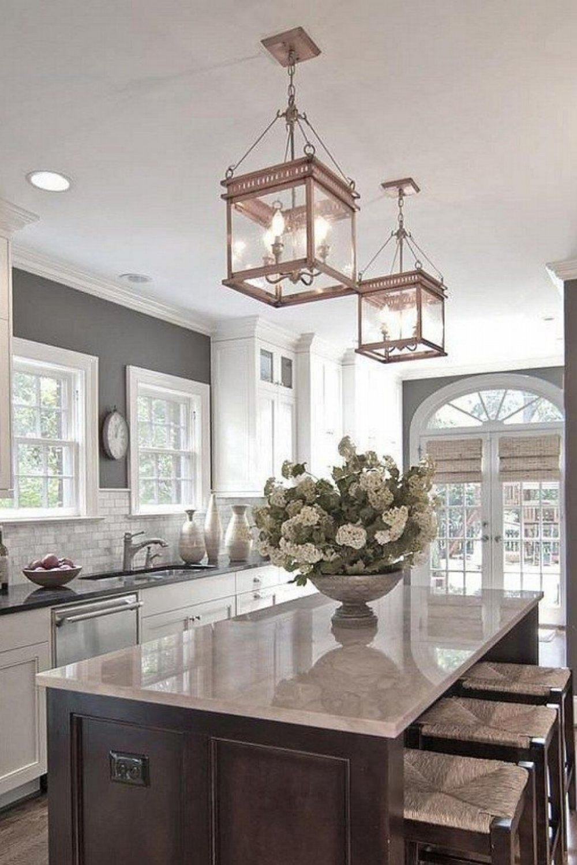 Kitchen Island Lighting Ideas Best And Clear Lighting Style Cheap Kitchen Makeover Kitchen Cabinets Decor Home Decor Kitchen