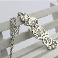 Doctor Who Gallifreyan Necklace