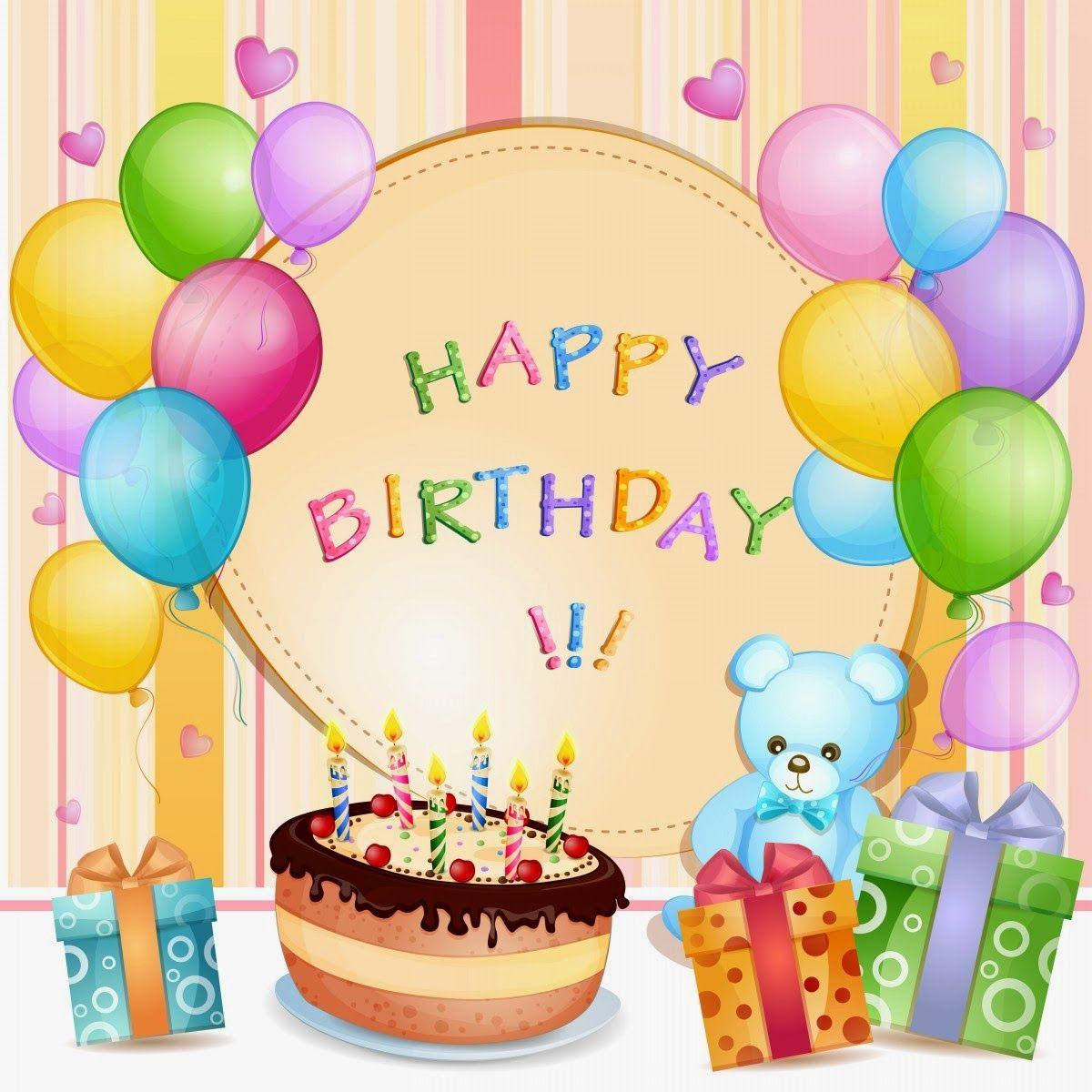Картинки открыток на день рождения для детей