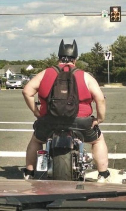 Batman Needs An Exercise Bike - Batman Riding Batcycle ...