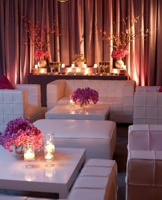 Fabulous setup at this #pink #uplighting #wedding #reception! #diy #diywedding #weddingideas #weddinginspiration #ideas #inspiration #rentmywedding #celebration #weddingreception #party #weddingplanner #event #planning #dreamwedding