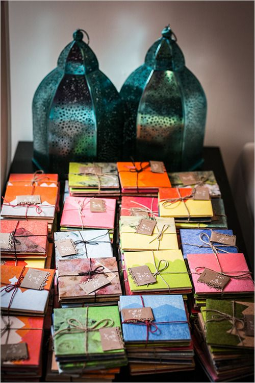 - inspiration cadeaux d'invités -
