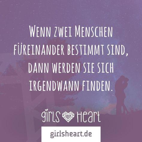 Habt ihr euch schon gefunden? Markiert euren Seelenverwandten. Mehr Sprüche auf: www.girlsheart.de #liebe #love #seelenverwandtschaft #seelen #dereine #dieeine #schicksal