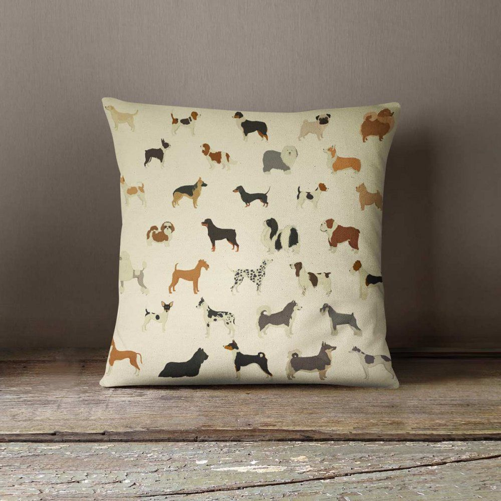 Photo of Dogs, Dogs & More Dogs Linen Pillow