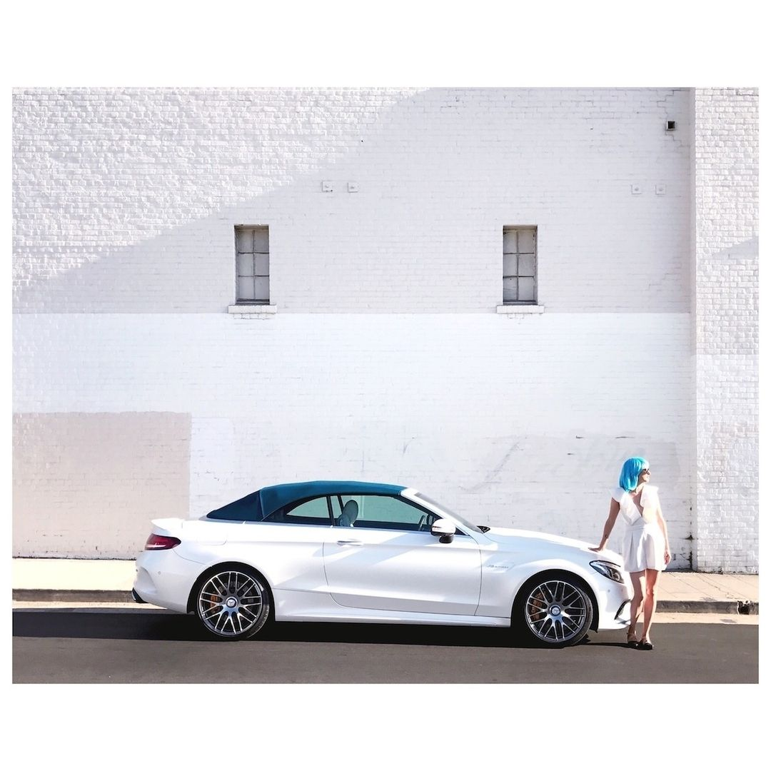 The Colors Of Summer. The Mercedes-AMG C