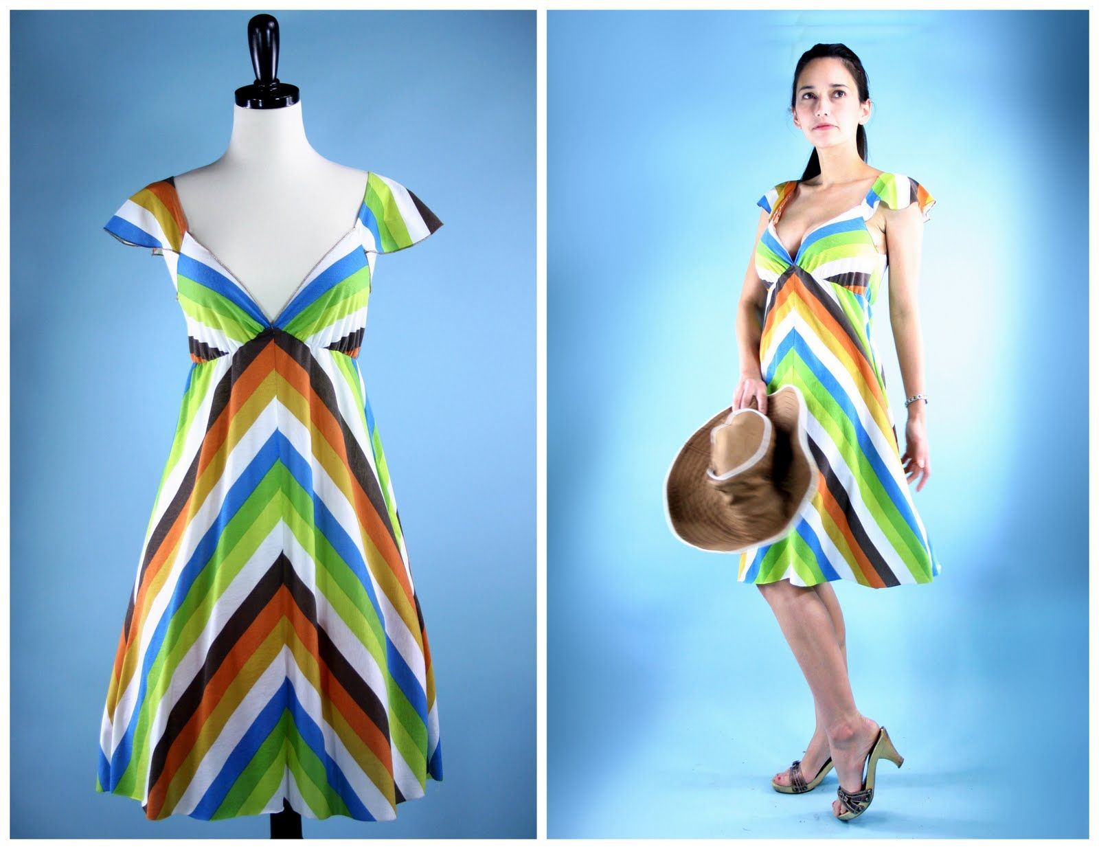 Looks like a great swimsuit cover - tutorial using this pattern http://www.burdastyle.com/pattern_store/patterns/tara.  Tutorial starts on this page:  http://grosgrainfabulous.blogspot.com/2010/06/frock-by-friday-monday.html