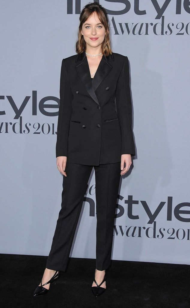 Dakota Johnson from Stars at the 2015 InStyle Awards  In Louis Vuitton