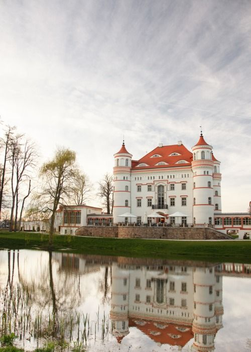 Wojanow Palace, Poland (by manofiron)  - Explore the World with Travel Nerd Nici, one Country at a Time. http://travelnerdnici.com