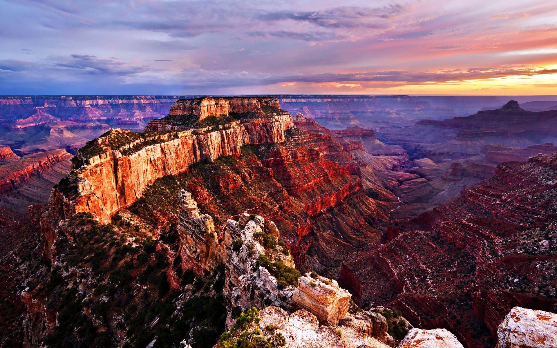 Grand Canyon National Park Arizona Postcard Rock AZ Colorado River Sunshine