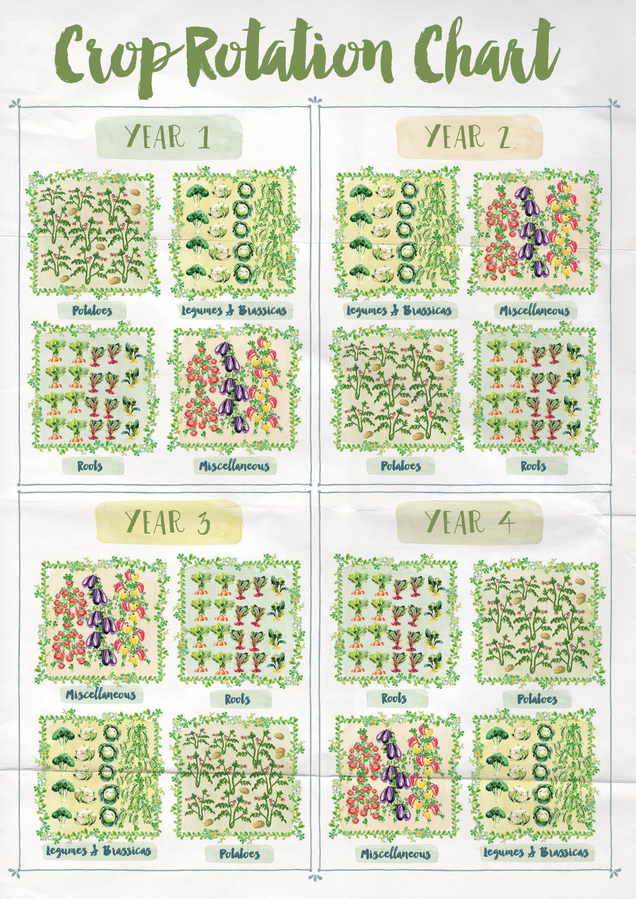 Crop rotation chart anna langbein blog also farming  gardening rh pinterest