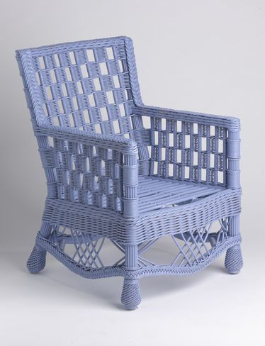 How To Re Coat Wicker Furniture Shades Of Blue Interiors Wicker Patio Furniture Outdoor Wicker Furniture Painting Wicker Furniture