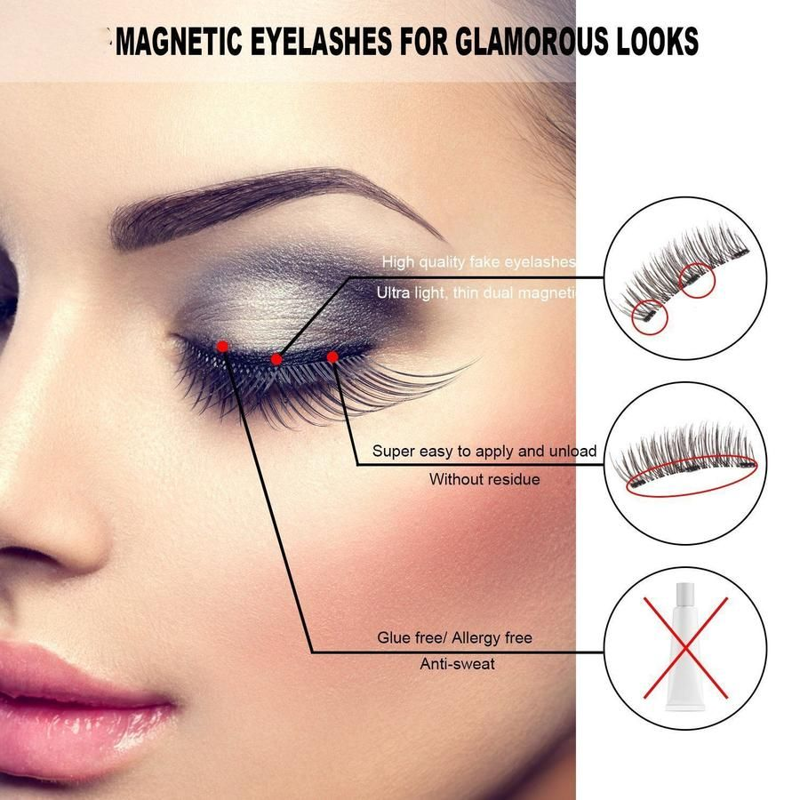 Eyeliner eyelash kit