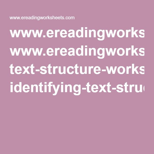 www ereadingworksheets com text-structure-worksheets