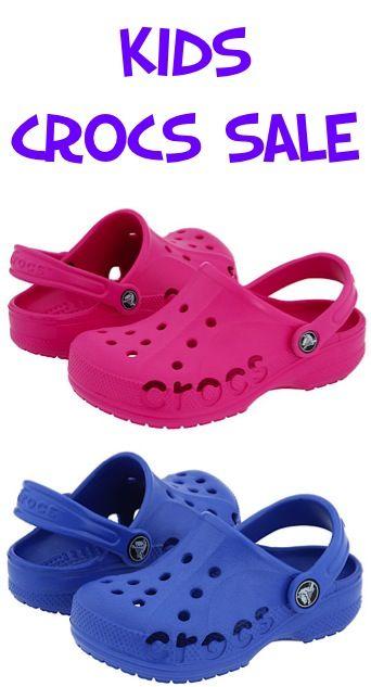 Kids shoe stores, Crocs baya