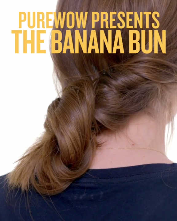 Heres How To Do The Banana Bun Once And For All Hair Tutorials