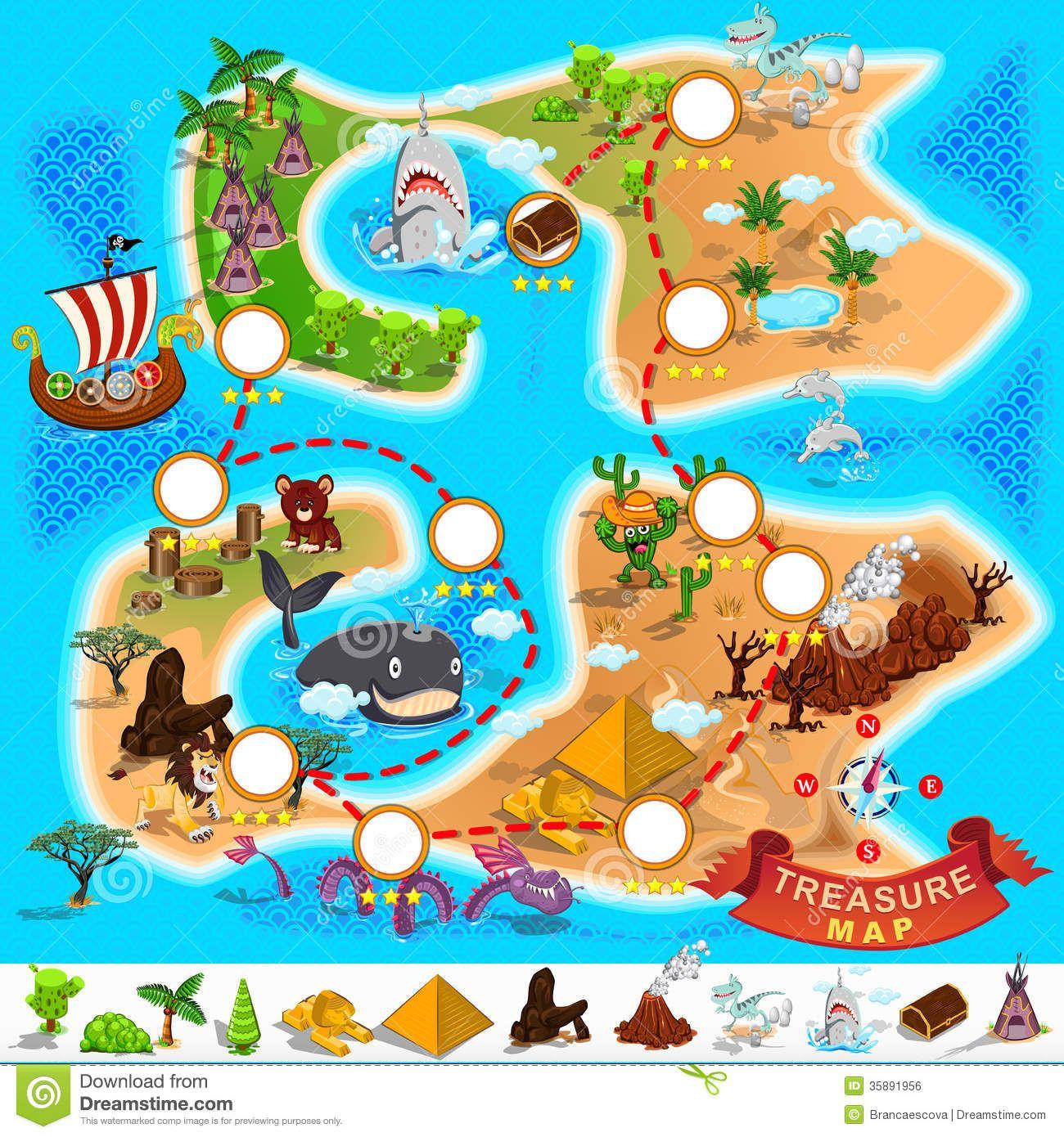 treasure map Google Search Cartes au trésor des