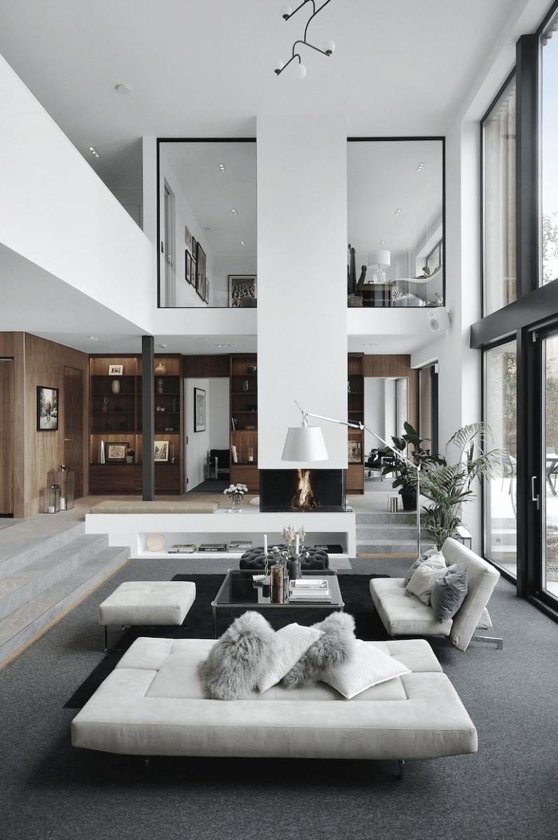 Home Decor Categories : Capsule Decor. Fall Back Porch. in 2020 | Luxury  loft, Loft apartment decorating, Modern loft