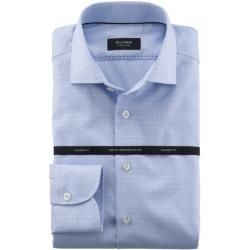 Photo of Olymp Firma Camicia, Tailored Fit, Firma Kent, Bleu, 40 Olympus