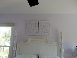 Use old paint samples to create original art