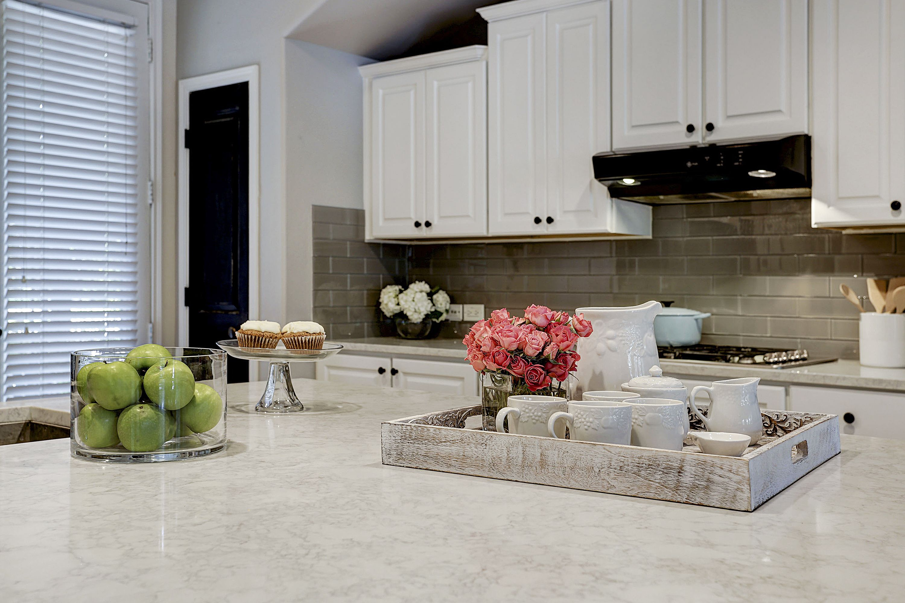 Oyster Cotton From The Allen Roth Quartz Collection Kitchen