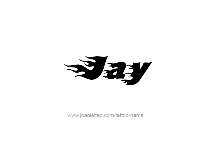 Jay Name Tattoo Designs In 2020 Jay Name Name Tattoos Tattoo Designs