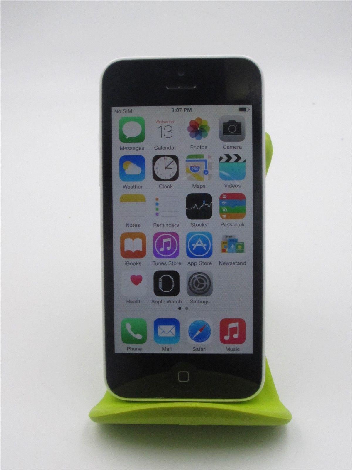 Apple Iphone 5c A1532 Fido White 8gb Poor Conditionpr4552 Refurbishedphones