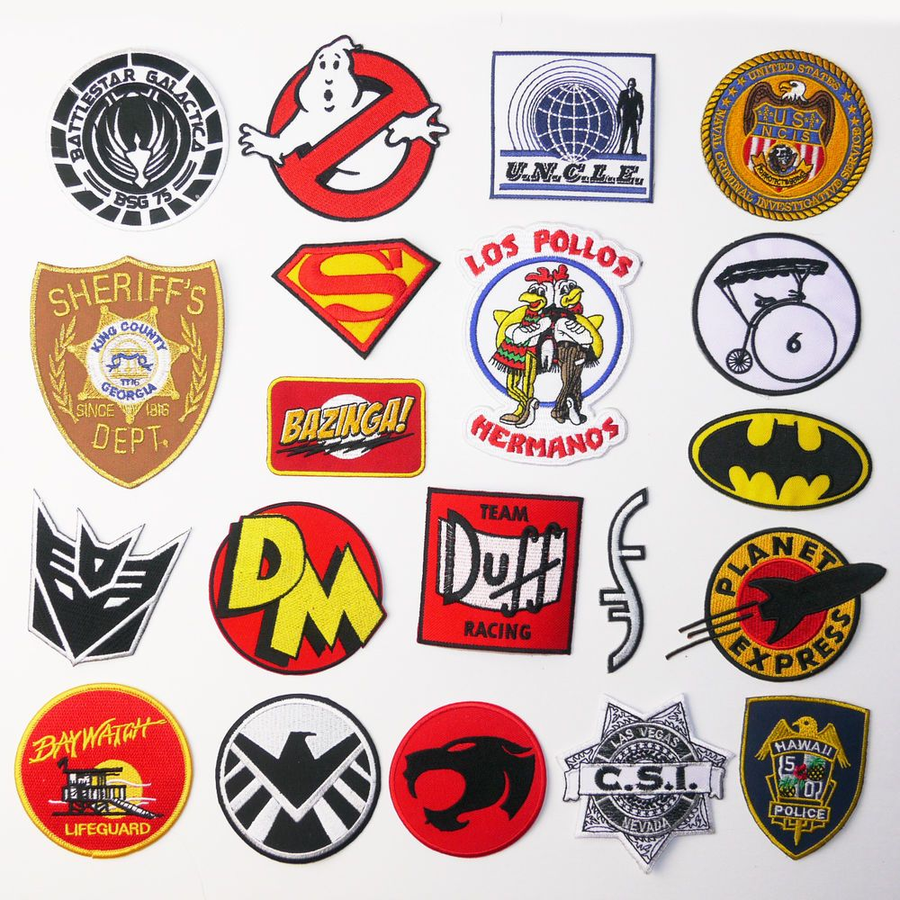 Great Tv Show Patches Awesome Iron On Patch Series Great Price Uk Seller New Estampas Adesivos Apliques