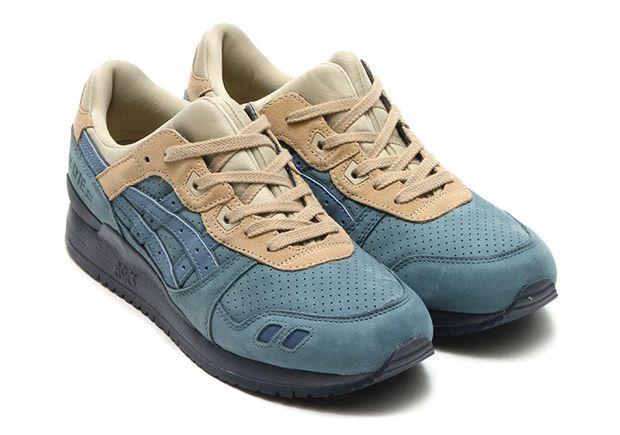 zapatillas casual de hombre gel-vickka trs asics lux