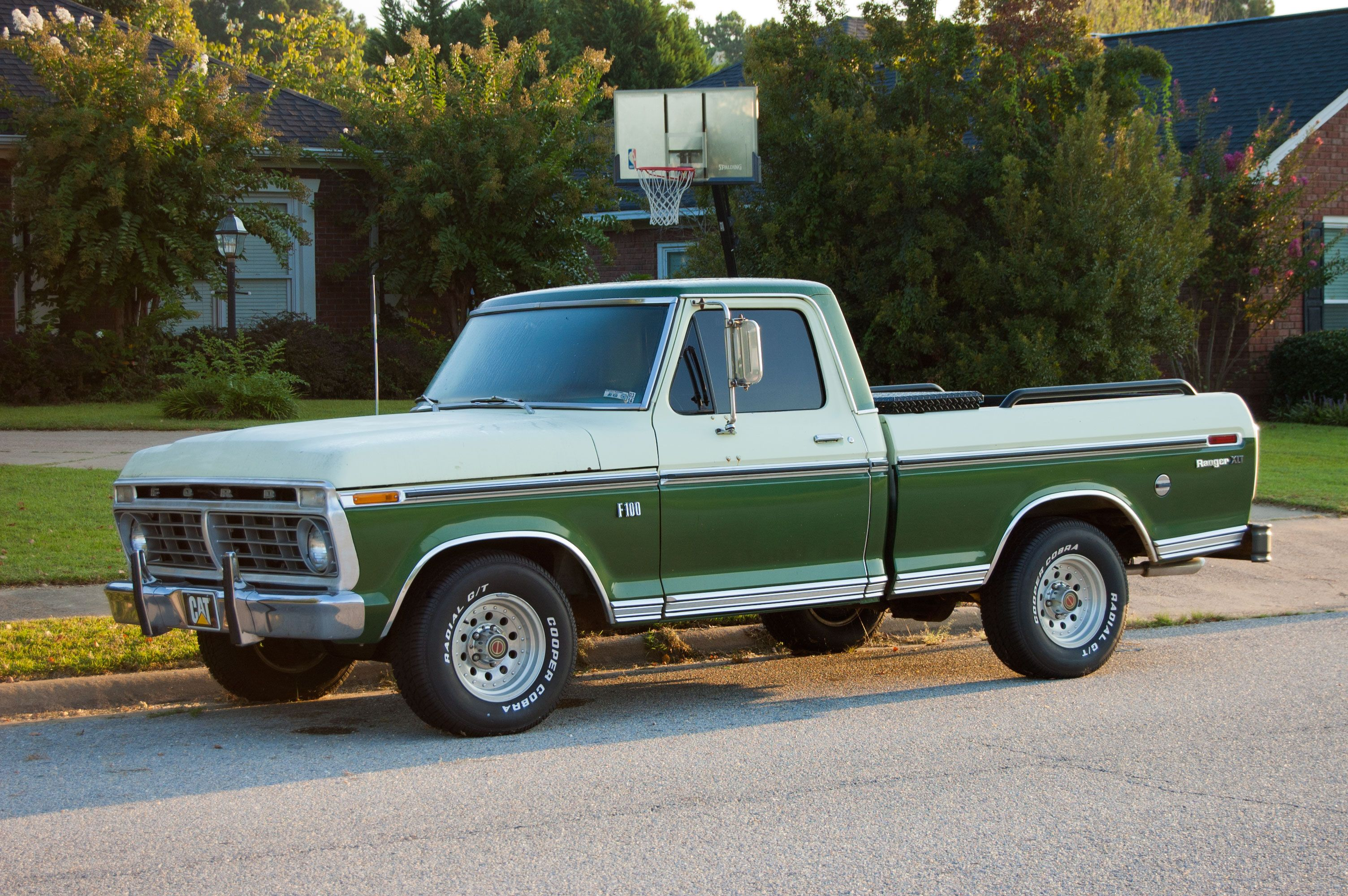 A Two Tone Cream Over Green F100 Xlt That Never Moves Since 1970 Ford Ranger Appearing Last