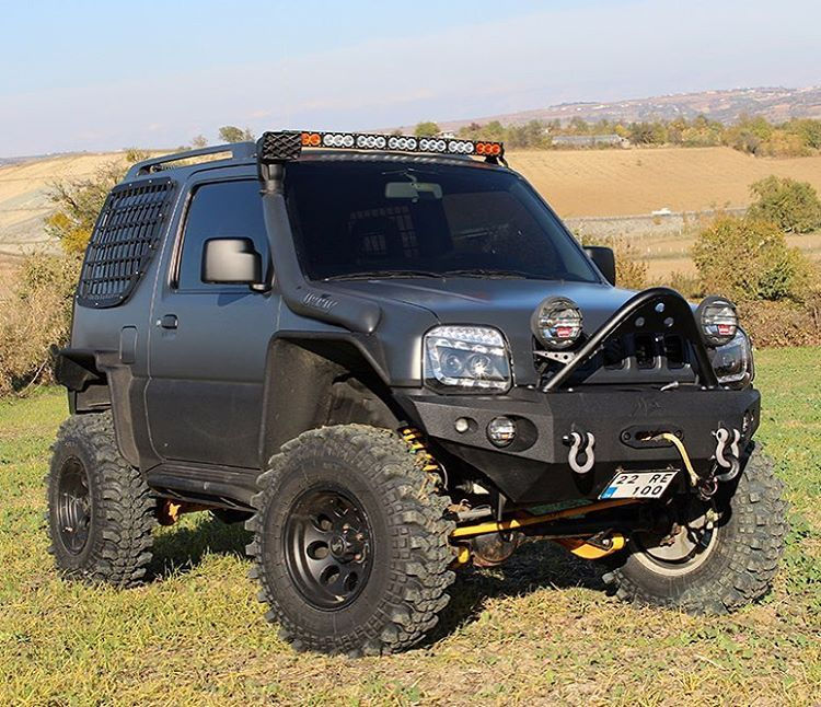 Nietypowy Okaz suzuki #jimny #black #monster #hard #custom #modify #tuning #4x4 RS22