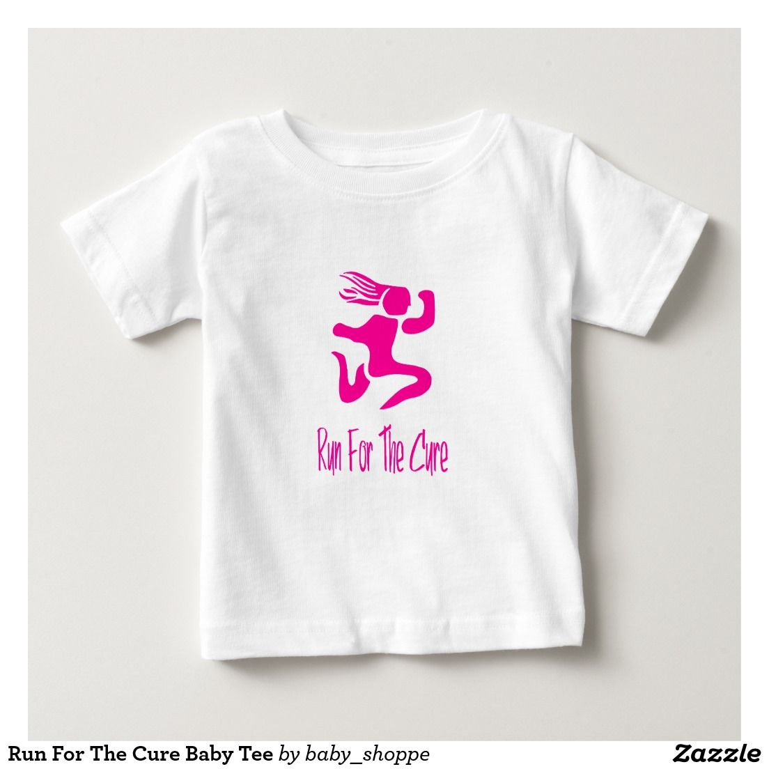Run For The Cure Baby Tee