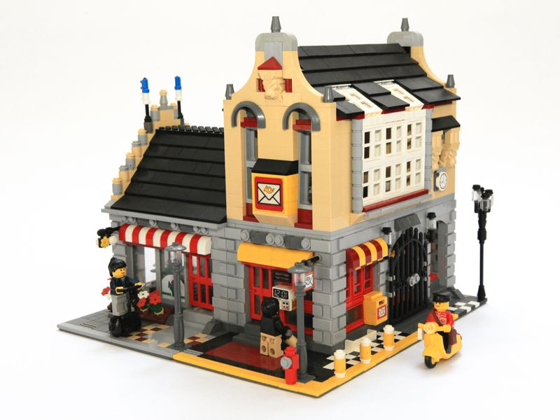 Lego City Ideas Lego Town Architecture Building Tips