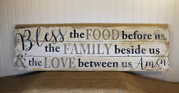 Kitchen Blessing Wall Decor - Home Decorating Ideas
