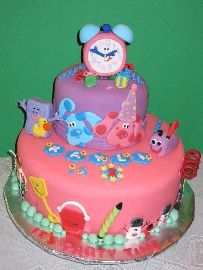 Blues Clues Cake Dog Cakes Cute Birthday Ideas Cake