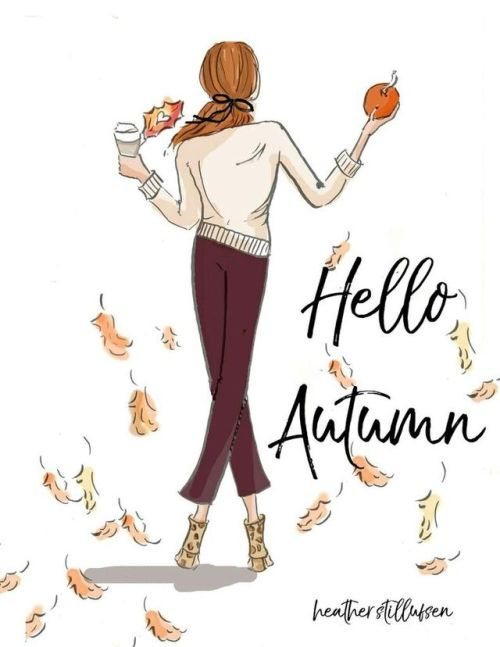 one preppy girl #helloautumn