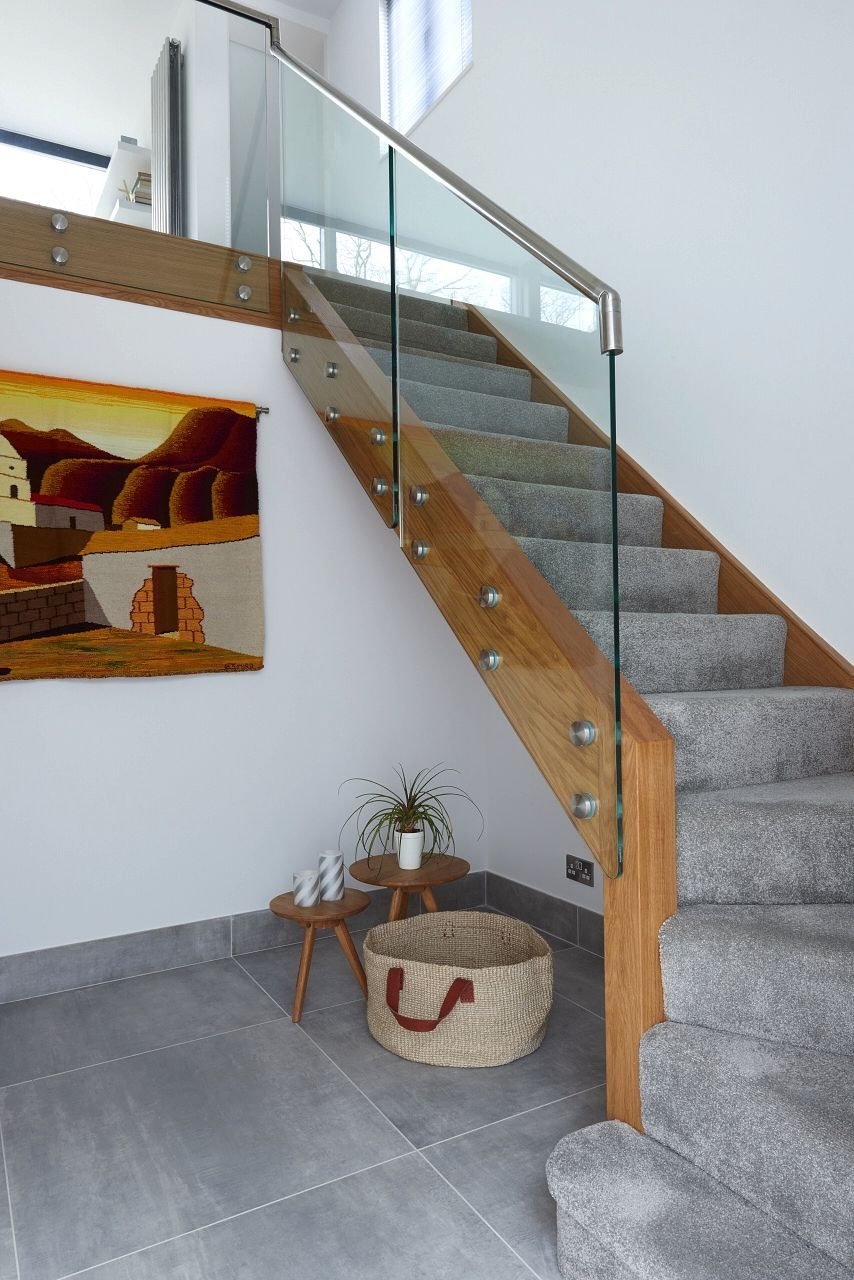 Infinity Integral Glass And Wood Renovation With Metal | Metal And Glass Staircase