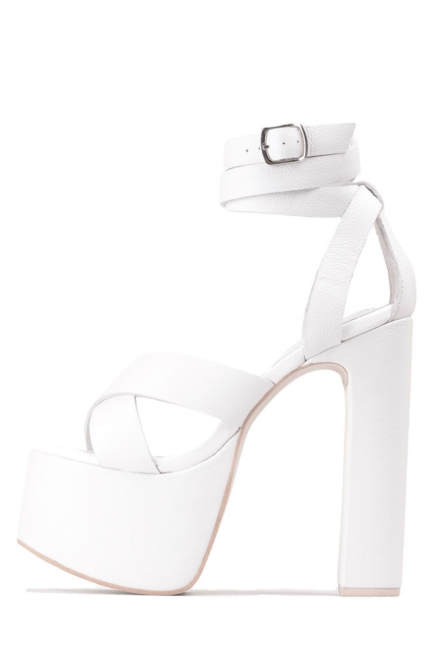 a46d3985331 Jeffrey Campbell Shoes SHAUNTA New Arrivals in White