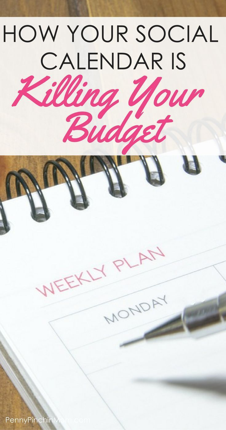 Why Your Social Calendar Is Ruining Your Budget is part of Organization Calendar Tips - Social events can take a toll on your budget  Learn that it is OK to say no and how to downsize your social life to help with your budget