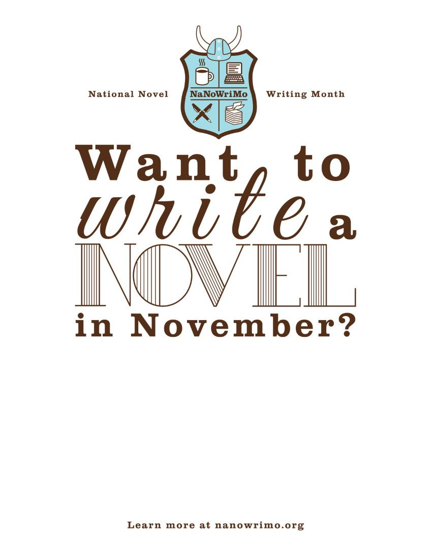 NaNoWriMo! Yeah, it was hard enough last year, but surely renovating an apartment at the same time will make it easier?