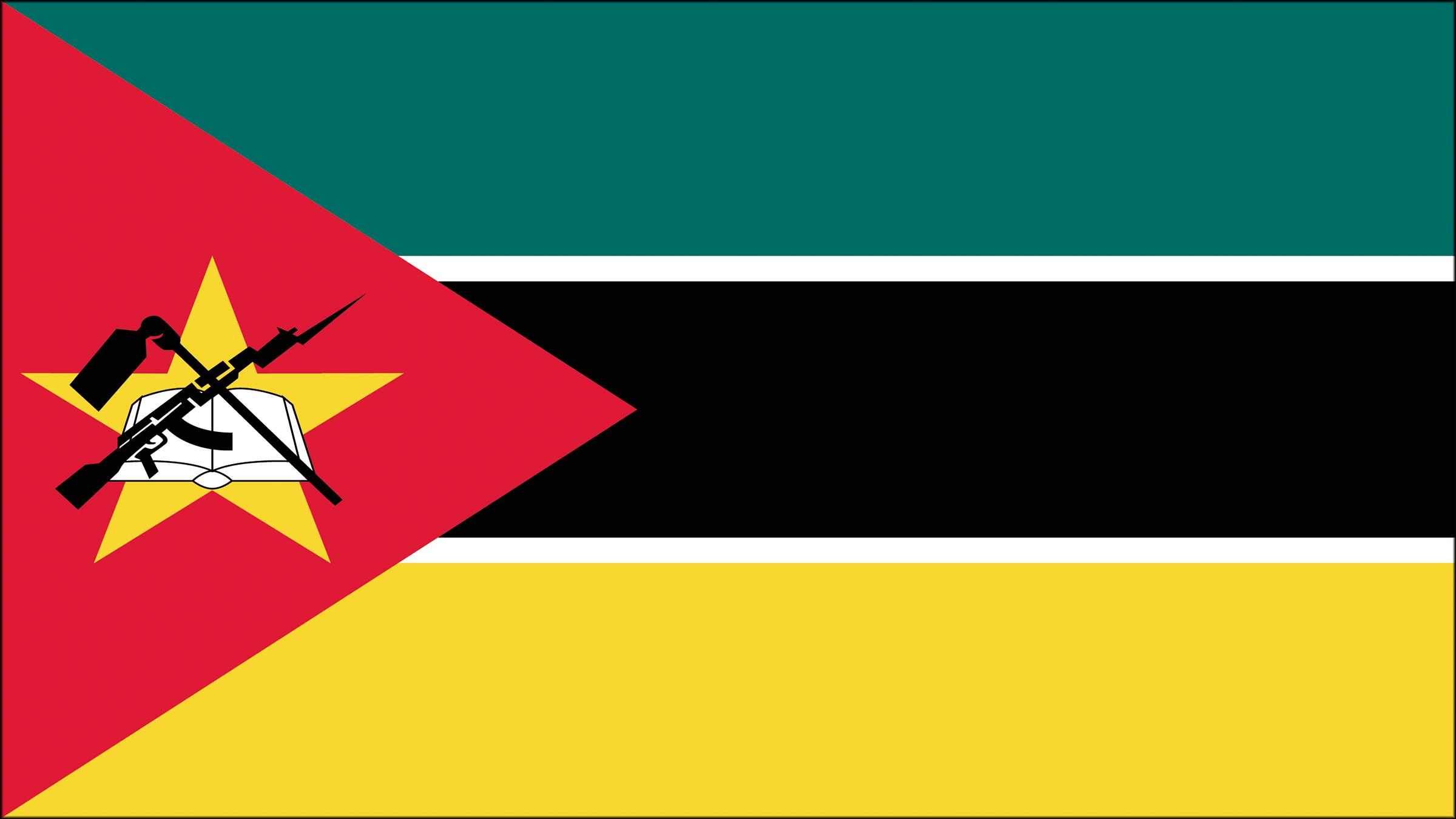 Bandera De Mozambique Banderas Escudo De Armas Y Escudo