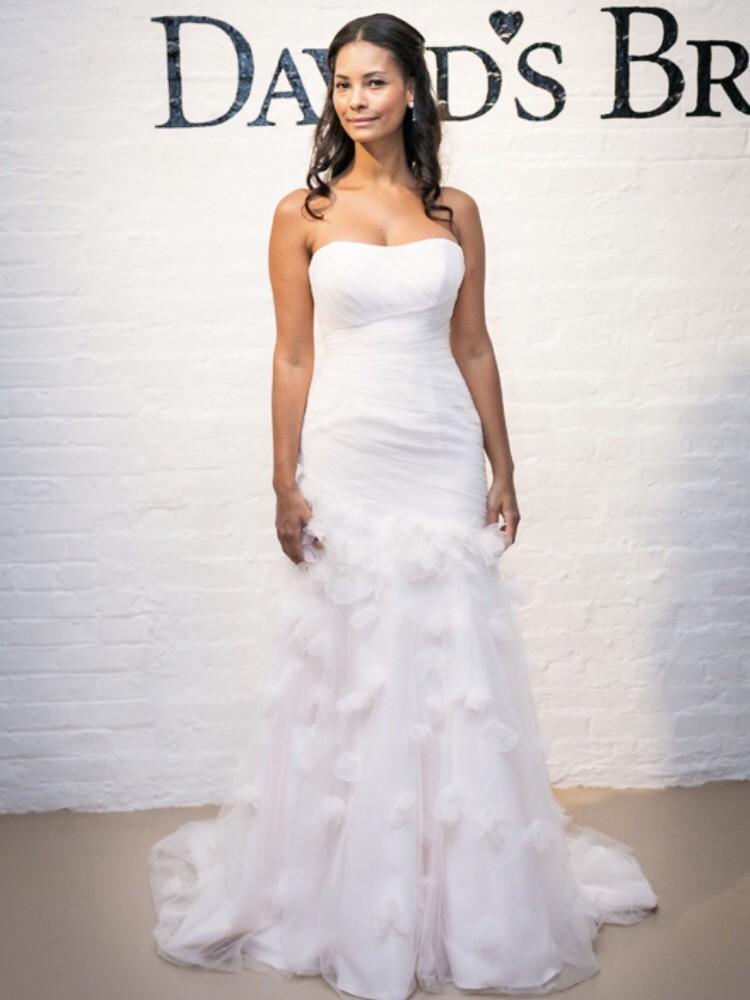 David S Bridal Whisper Pink Size 2