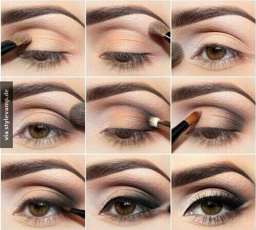 Passt Super Zu Braunen Augen Make Up Make Up Braune Augen Und Augen