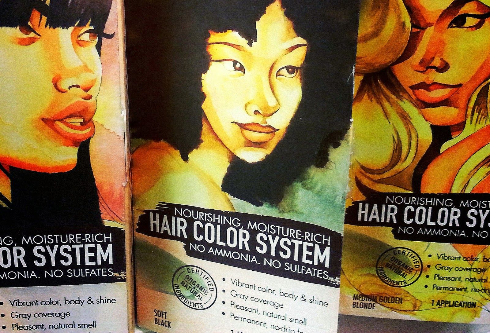 Shea Moisture Hair Color System So What Youre Telling Me Is I Can