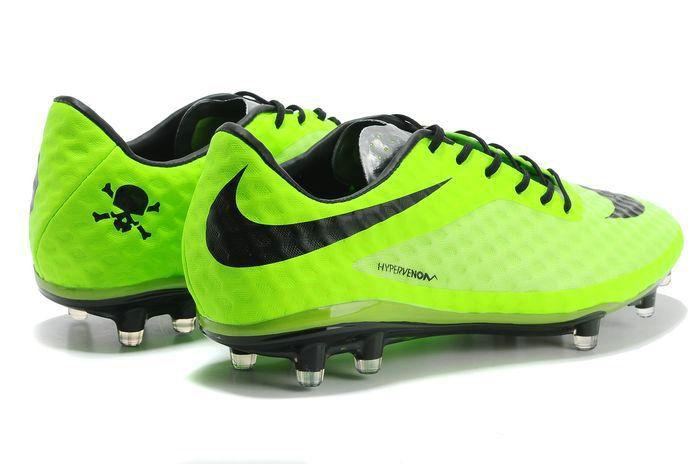 detailed pictures 948ef b808a Nike Hypervenom Phantom FG Mens Soccer Boots - Lime Green Black