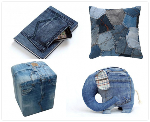 Craft Ideas To Do With Old Jeans Diy Tag Crafts