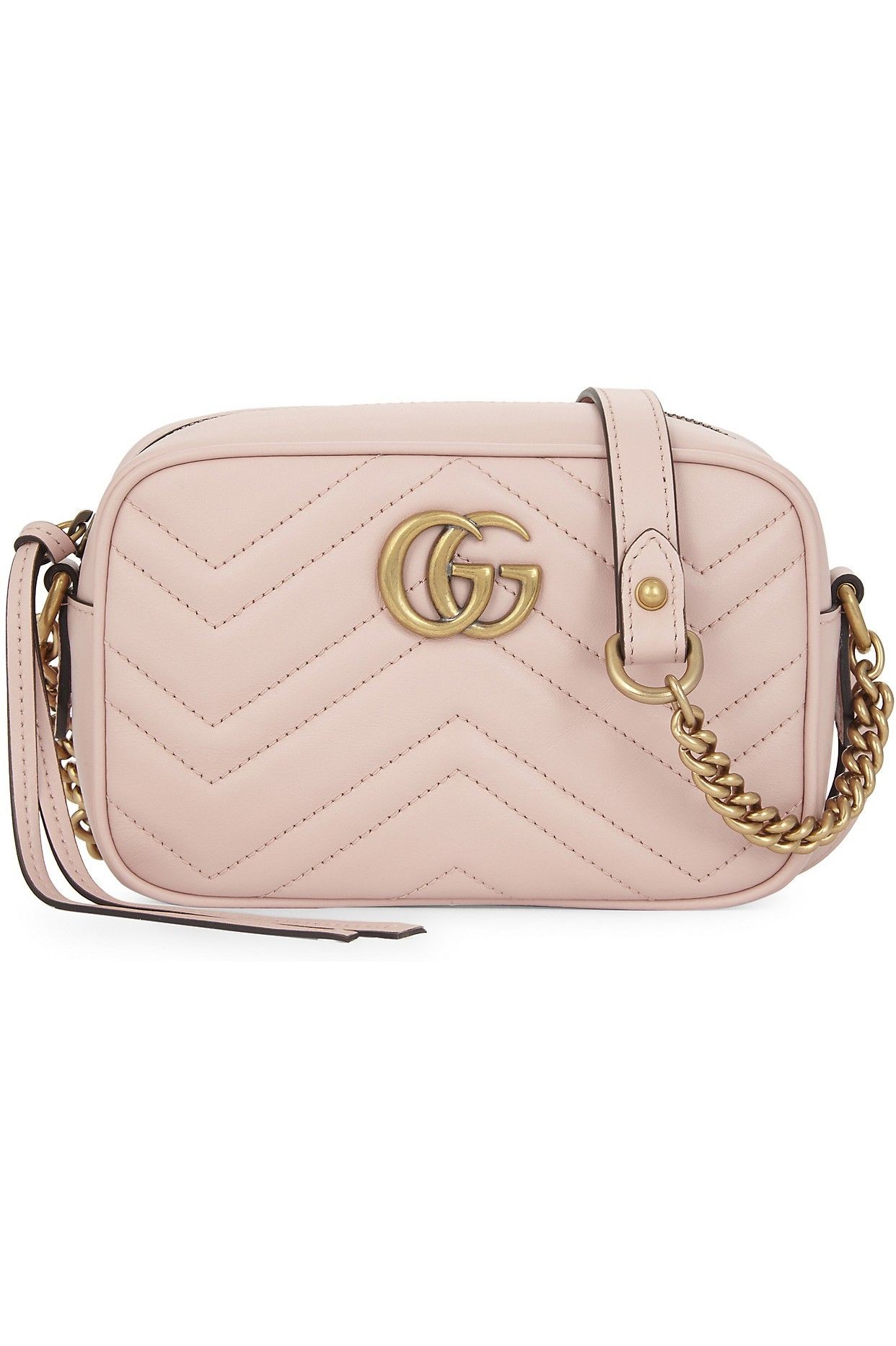 fe1fdcb2cdf GUCCI GG Marmont small quilted leather camera cross-body bag ...