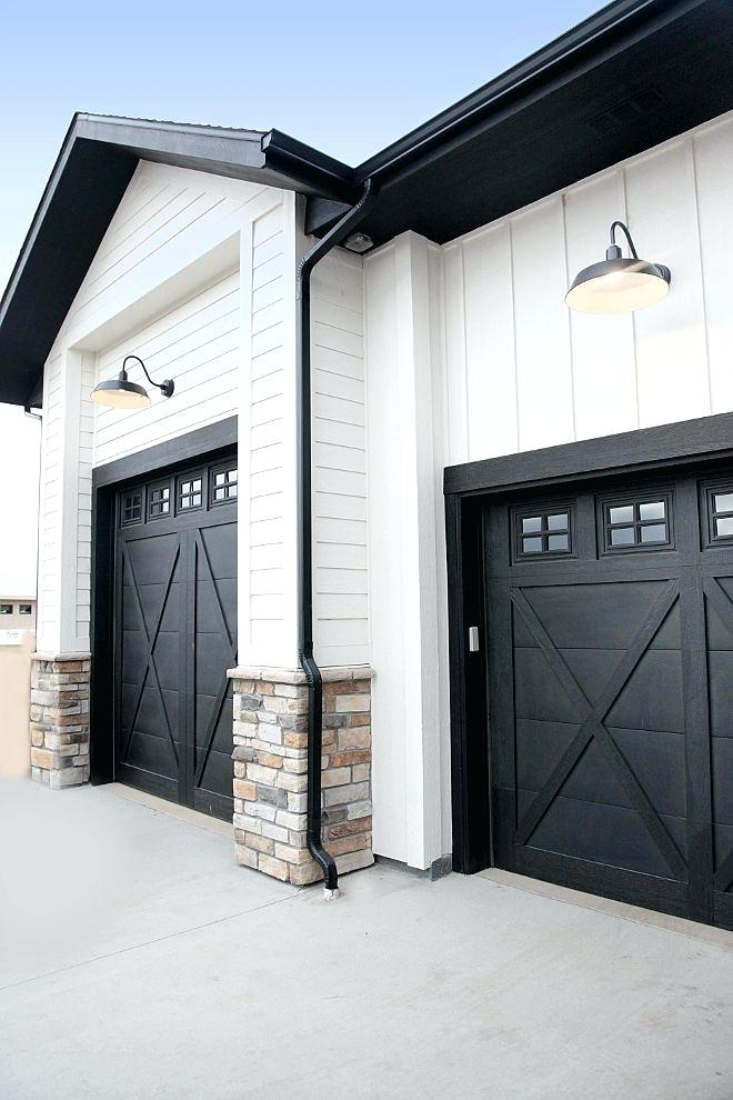 Ideas For Commercial Buildings Exterior Paint Google Search Garage Door Design Garage Door Styles Modern Farmhouse Exterior
